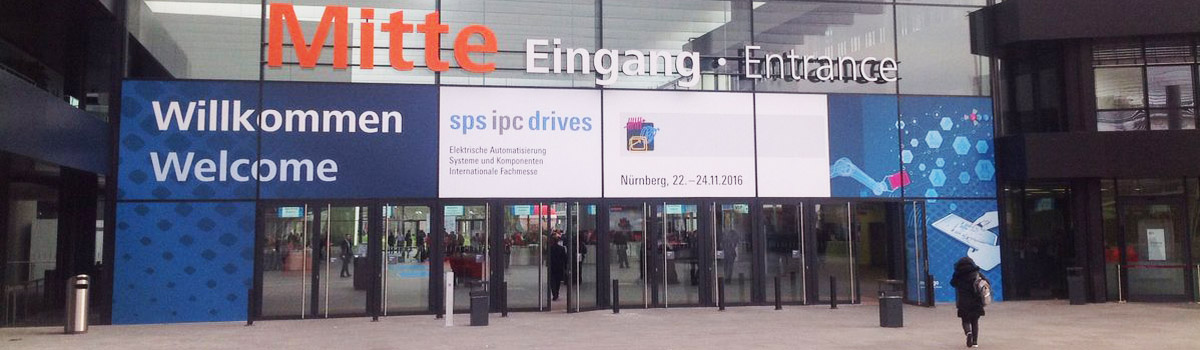 SPS IPC 2016 Omec Motors Entrance