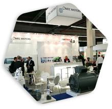 SPS IPC 2016 Omec Motors stand